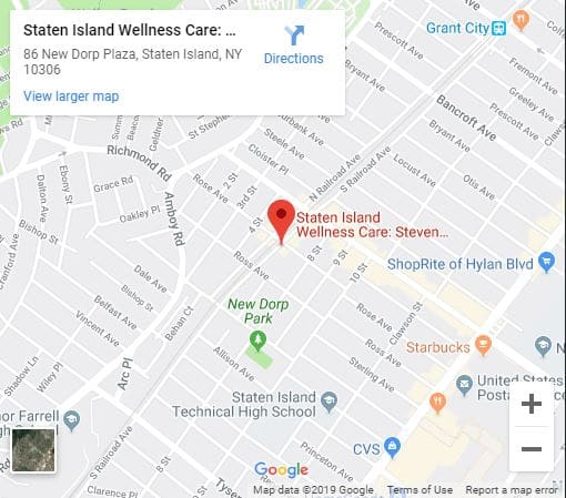 Directions to Staten Island Wellness Care